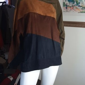 Milli made in italy suede jacket pullover